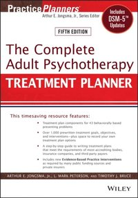 Complete Adult Psychotherapy Treatment Planner (e-bok)