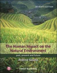 The Human Impact on the Natural Environment (inbunden)