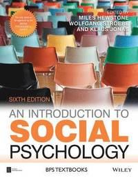 An Introduction to Social Psychology (häftad)