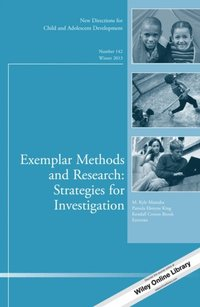 Exemplar Methods and Research: Strategies for Investigation (e-bok)