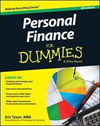 Personal Finance for Dummies, 8th Edition (häftad)