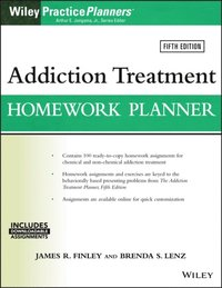 Addiction Treatment Homework Planner (e-bok)