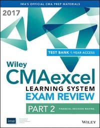 Wiley CMAexcel Learning System Exam Review 2017 (häftad)
