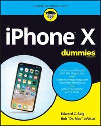 iPhone X For Dummies (häftad)