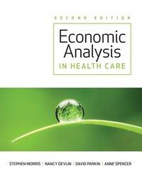 Economic Analysis in Health Care