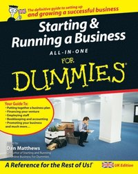 Starting and Running a Business All-in-One For Dummies (e-bok)