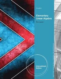 Elementary Linear Algebra, International Edition av Ron Larson (Häftad)