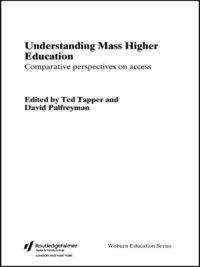 structuring mass higher education palfreyman david tapper ted