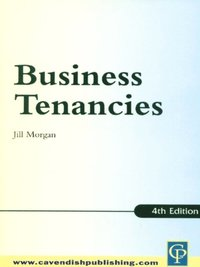 Practice Notes on Business Tenancies (e-bok)