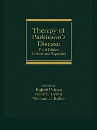 Therapy of Parkinson's Disease (e-bok)