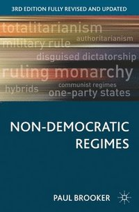 Non-Democratic Regimes (häftad)