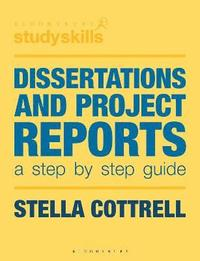 Dissertations and Project Reports (häftad)