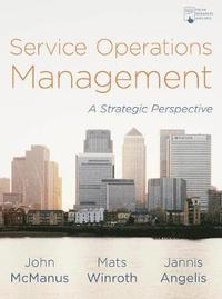 Service Operations Management (häftad)