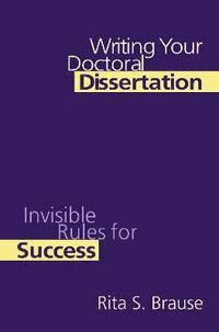 bolker writing your dissertation