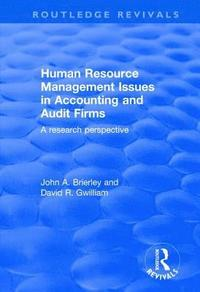 Human Resource Management Issues in Accounting and Auditing Firms (inbunden)