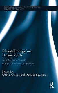 Climate Change and Human Rights (inbunden)