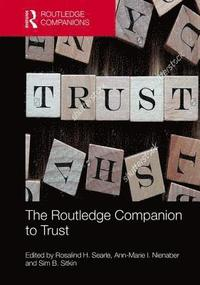 The Routledge Companion to Trust (inbunden)