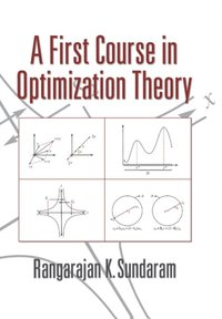 First Course in Optimization Theory (e-bok)