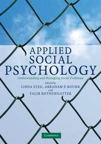 Applied Social Psychology (e-bok)
