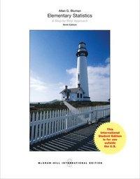 Elementary Statistics: A Step By Step Approach (Int'l Ed) av Allan Bluman  (Book)