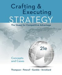 crafting & executing strategy the quest for competitive advantage pdf