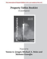 PROPERTY TABLES BOOKLET FOR THERMODYNAMICS: AN ENGINEERING APPROACH (häftad)