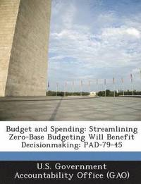 Budget and Spending (häftad)