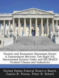 Finance and Economics Discussion Series (häftad)