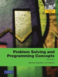 problem solving and programming concepts 9th edition solution manual pdf
