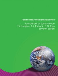 Foundations of Earth Science: Pearson New International Edition (e-bok)