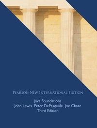 Java Foundations: Pearson New International Edition (e-bok)