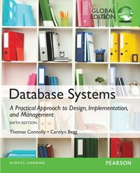 Database Systems: A Practical Approach to Design, Implementation, and Management, Global Edition (e-bok)