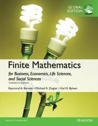 Finite Mathematics for Business, Economics, Life Sciences and Social  Sciences OLP with etext, Global Edition av Raymond A Barnett (Online  resource)
