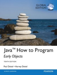 Java How To Program (Early Objects), Global Edition (e-bok)