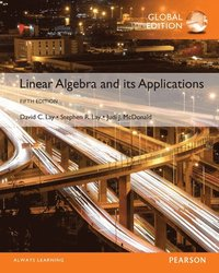 Linear Algebra and Its Applications, Global Edition (häftad)