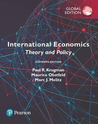 International Economics: Theory and Policy, Global Edition (häftad)