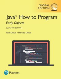 Java How to Program, Early Objects, Global Edition - Harvey