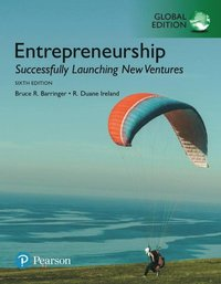 Entrepreneurship: Successfully Launching New Ventures, Global Edition (e-bok)