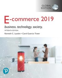 E-Commerce 2019: Business, Technology and Society, Global Edition (häftad)