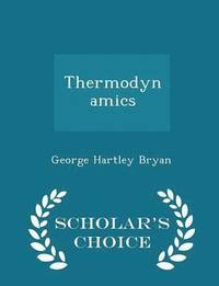 Thermodynamics - Scholar's Choice Edition (häftad)