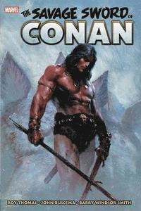 Savage Sword Of Conan: The Original Marvel Years Omnibus Vol. 1 (inbunden)