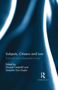 Subjects, Citizens and Law (e-bok)