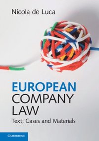 European Company Law (e-bok)