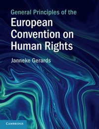 General Principles of the European Convention on Human Rights (e-bok)