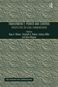 Transparency, Power, and Control (e-bok)