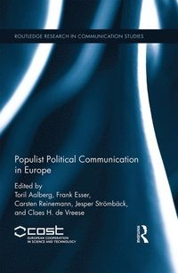 Populist Political Communication in Europe (e-bok)