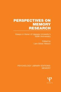 Perspectives on Memory Research (PLE:Memory) (e-bok)