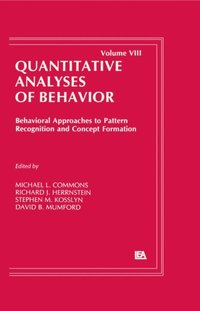 Behavioral Approaches to Pattern Recognition and Concept Formation (e-bok)