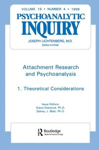 Attachment Research and Psychoanalysis (e-bok)