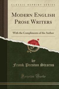 modern english writers and their works